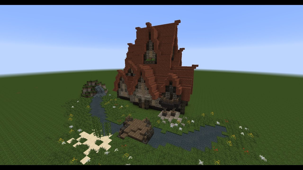 How To Build A Victorian House Minecraft Rustic House Download Youtube