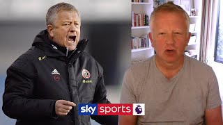 Chris Wilder shares his opinion on players staying fit during football's break