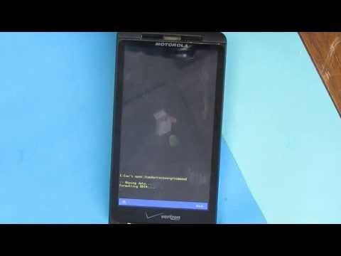 Hard Reset Motorola Droid X MB810 Verizon
