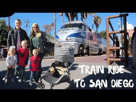 TRAIN RIDE TO SAN DIEGO!!