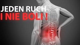 Zlikdiwuj ból pleców za pomocą jednego ruchu