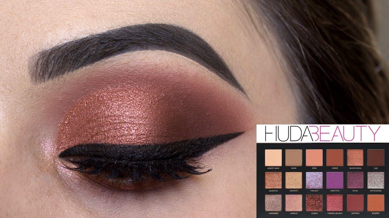 �ล�าร���หารู��า�สำหรั� Huda Beauty Desert Dusk Eyeshadow Palette