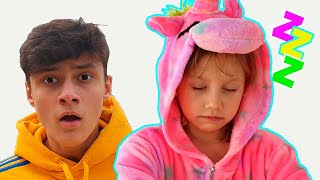Alena and Pasha play and a lot of funny stories for kids Compilation