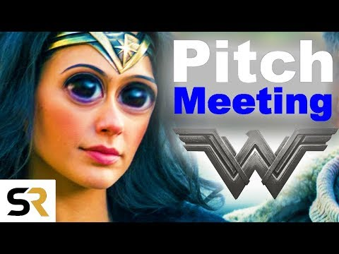 Wonder Woman Pitch Meeting