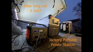 First look at my Jackery 500 w portable power station. Amazon affiliate link to items we have purchased for our Hiker: Jackery Portable Power Station Explorer ...
