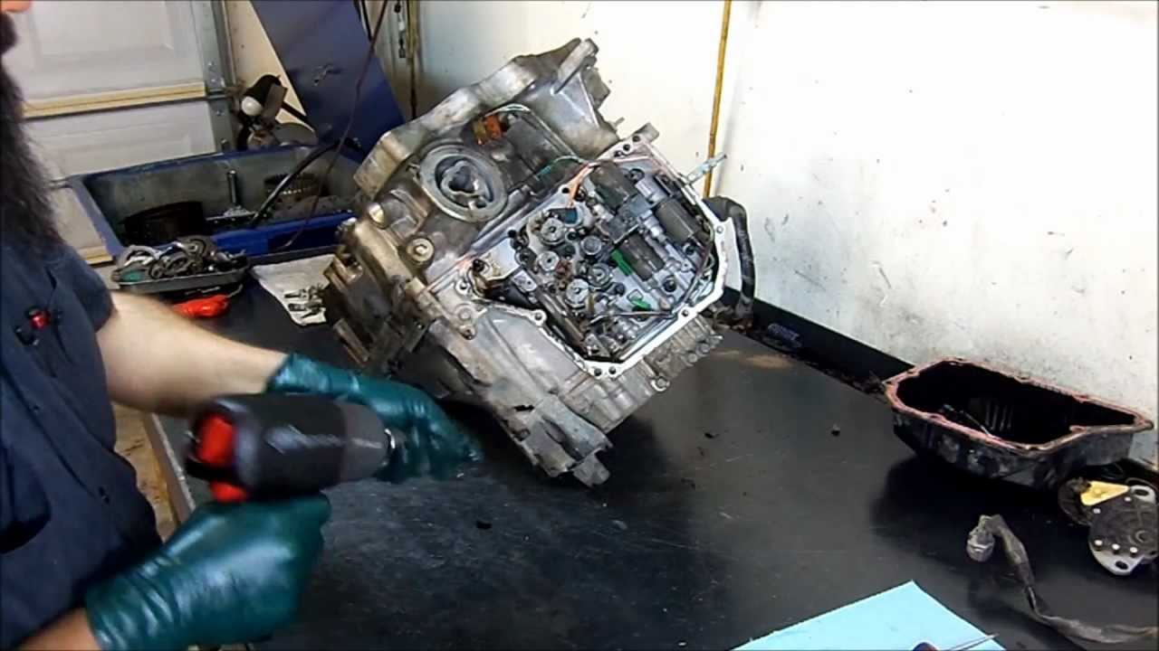 AW5551SN  RE5F22A    Transmission    Teardown Inspection     Transmission    Repair  YouTube
