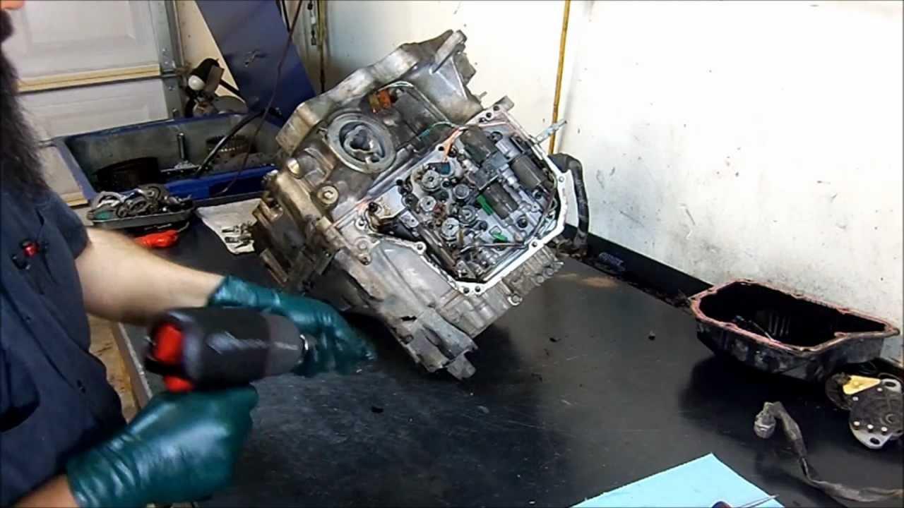AW5551SN  RE5F22A Transmission Teardown Inspection