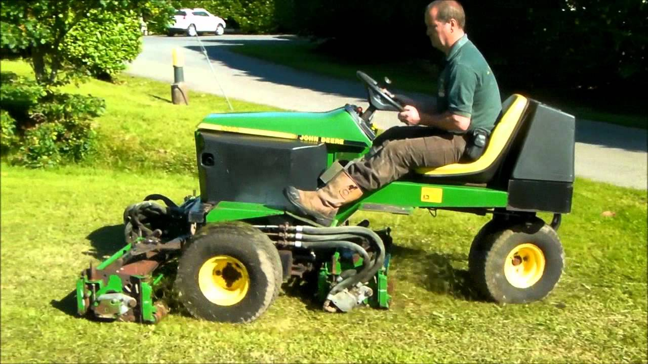 Ride On Mower >> Used John Deere 2653 - PowercutUK - YouTube