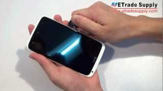HTC One X AT&T Easy Step by Step Disassembly video(This is a video about how to disassemble your HTC One X at&t, if you are trying to DIY repair your broken HTC One X at&t and looking forward a video to follow, ..., 2012-07-30T13:28:37.000Z)