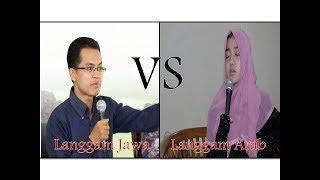 Wirda Mansur VS Yasser Arafat: Langgam Jawa vs Langgam Arab
