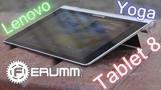 Lenovo Yoga Tablet 8 видеообзор. Плюсы и минусы Lenovo Yoga Tablet 8 от FERUMM.COM