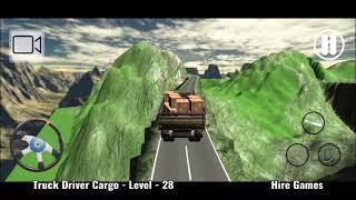 Truck Driver Cargo Game Level - 28 screenshot 5