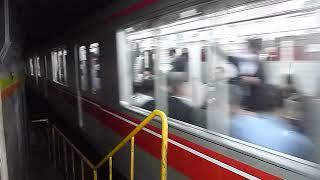 [警笛あり]東京メトロ丸ノ内線02系第40編成 東京駅到着