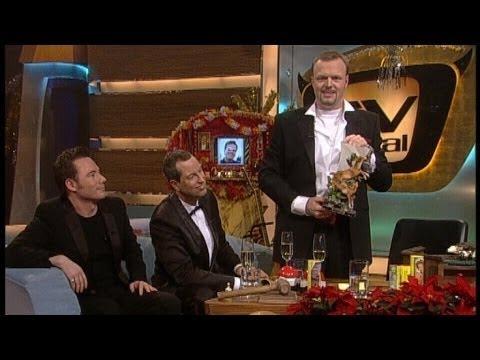 Weihnachtsgeschenke zerstören mit Raab, Bully und Thomas Hermanns - TV total