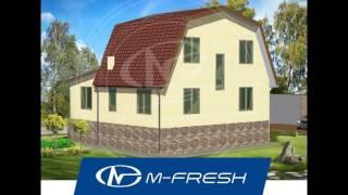 Простой проект дома с мансардой M-fresh Flagman (+ зеркальная версия проекта с жилой мансардой)(, 2016-11-27T05:58:50.000Z)