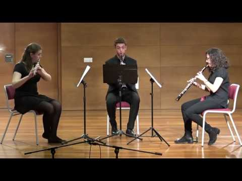 Divertmento Op. 37 for Wind Trio - M. Arnold