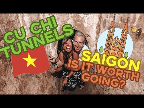 Things To Do In HO CHI MINH CITY | BEST Things To Do In SAIGON | CU CHI TUNNELS Tour