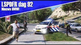 GTA 5 lspdfr dag 92 - Surveillance in de BMW!