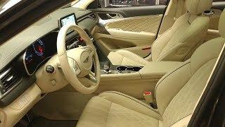 제네시스 g70 베이지색 인테리어 살펴보기 / genesis G70 interior