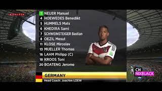 brazil vs germany 2014 world cup semi- final....