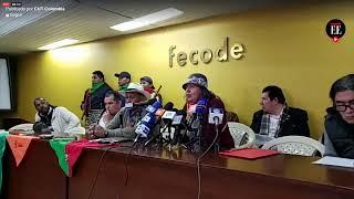 """Comité Nacional de Paro presenta """"propuesta alterna"""" para una mesa nacional de diálogo"""