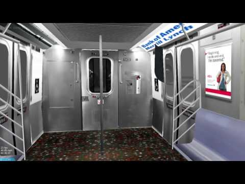 OpenBVE HD: Operating New York City Subway Fictional T Line to Hanover Sq
