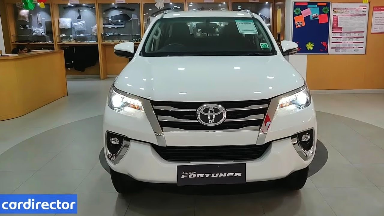 toyota fortuner 2 8 4x2 2019 fortuner 2019 base model interior and exterior real life review [ 1280 x 720 Pixel ]