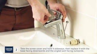 Замена картриджа в смесителе для умывальника Grohe(В данном видео вы можете посмотреть как заменить картридж в смесителе для умывальника Grohe. Приятного просмо..., 2016-03-14T14:52:35.000Z)