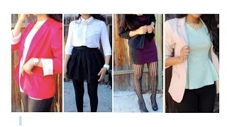 ❅ Holiday LookBook ❅ | 4 Complete Outfits ♥  New Years outfits or Christmas outfits