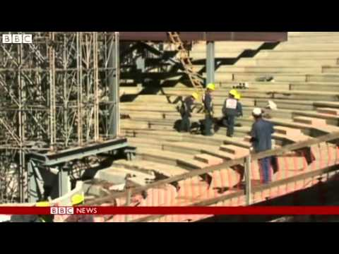 Brazil World Cup 2014: Three stadiums 'not ready for deadline'