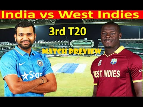 India vs West Indies 3rd T20I Match Preview | Cricket Live | DD Sports