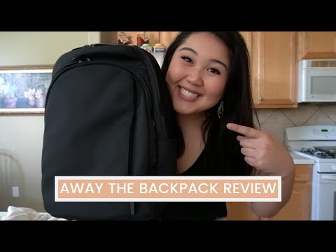 AWAY THE BACKPACK REVIEW - JESSETTERVLOGS