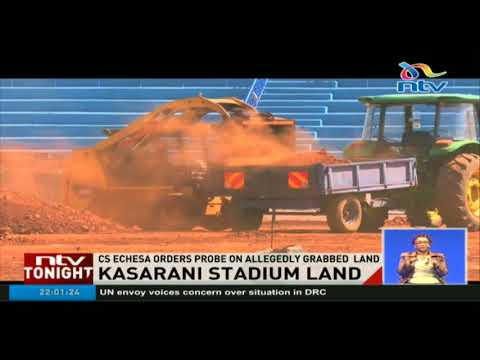 Sports CS orders probe into alleged land grabbing at Kasaran
