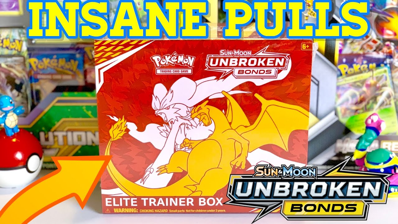 *Unbroken Bonds* (THE BEST Elite Trainer Box OPENING) INSANE PULL RATE!!
