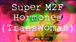 Essential M2F Hormones Trans Women HRT MTF Frequencies Hypnosis Rife Biokinesis Transgender Potion