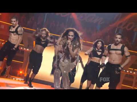 Jennifer Lopez Ft  Pitbull   Live On The Floor American Idol HD