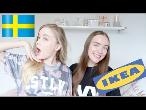 Trying Swedish Food With My Sister!