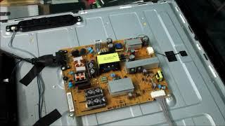 LG 47LN5750  39LN549E red blinking light -How to fix led lcd tv not turning on