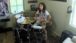 "Royal Blood ""Little Monster"" A Drum Cover by Emily"