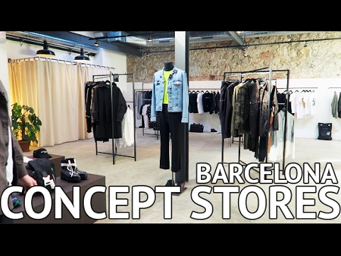 HIPSTER CONCEPT STORES IN BARCELONA