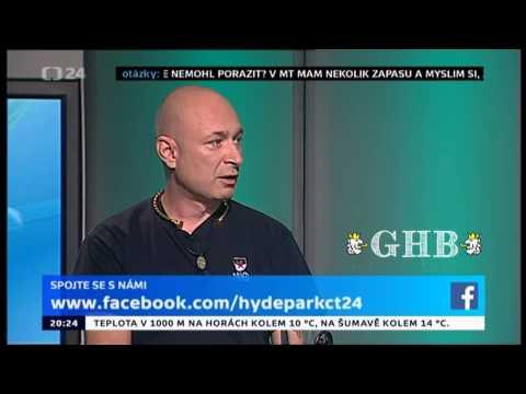 Daniel Landa v Hydeparku o skinheads a Orlíku