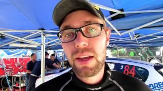 Felipe Mueller - Após SS6 - Rally de Pomerode 2016