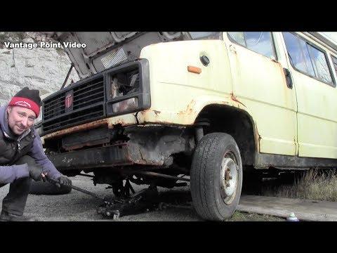 Motor Home Camper Talbot Petrol to Diesel Conversion Part 1