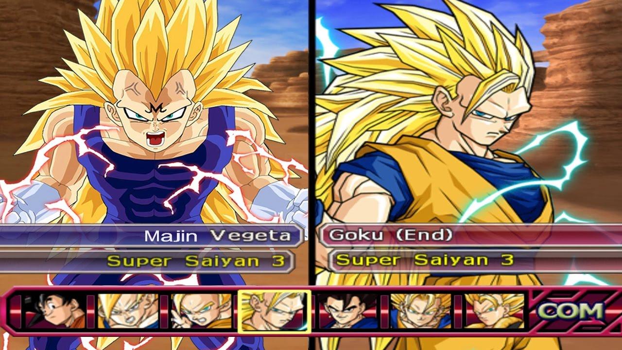 Dragon Ball Z Budokai Tenkaichi 3 - Majin Vegeta SSJ3 VS ...