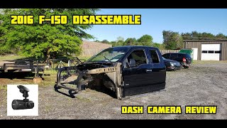 Rebuilding A Wrecked 2016 Ford F-150 Part 2/ Dash Cam Review