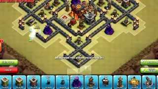 Clash of Clans - Romania [Town Hall 8 (TH8) - War / Trophy Base] {Air Sweeper}
