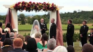 Zenith Vineyard in Salem, Oregon • Melinda & Aaron's Wedding Video