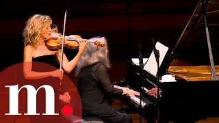 Martha Argerich and Anne-Sophie Mutter perform Franck's Sonata for Violin and Piano in A Major