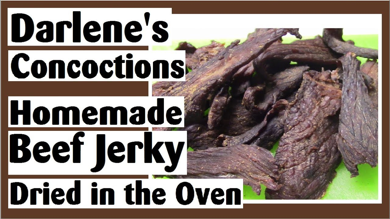How to Make Homemade Beef Jerky - Wicked Easy Oven Dry ...