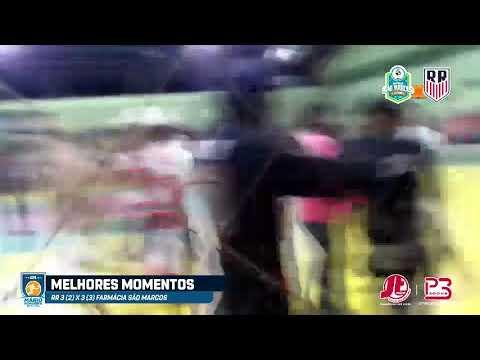 Melhores Momentos de RR X Farmácia São Marcos - Semifinal da Copa Mário Nogueira 2019-20